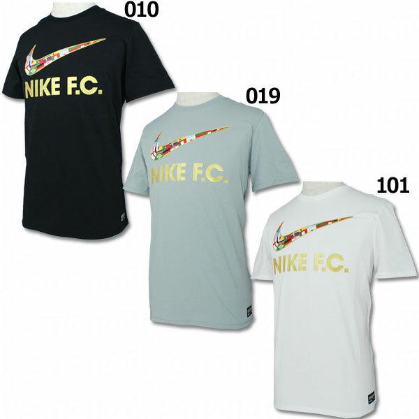 NIKE F.C. スウッシュ フラグ 半袖Tシャツ 【NIKE|ナイキ】サッカーフットサルウェアー911401