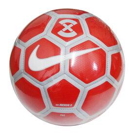 フットボール X メノール ブライトクリムゾン×ピュアプラチナ 【NIKE|ナイキ】フットサルボール4号球sc3039-673-pro
