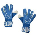 GK グリップ 3 ブルーヒーロー×ホワイト 【NIKE|ナイキ】サッカーフットサルゴールキーパーグローブgs3381-486