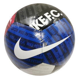 NIKE F.C. ホワイト×ブラック×ユニバーシティレッド 【NIKE|ナイキ】サッカーボール5号球cn5792-100-5