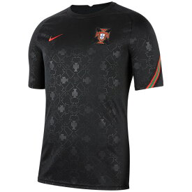 ポルトガル代表 半袖プレマッチトップ ブラック 【NIKE ナイキ】ナショナルチームウェアーcd2579-010
