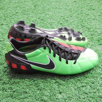 总计90皮革3 HG-B电绿色×白×挑战红×黑色足球钉鞋385425-306