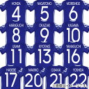 サッカー日本代表 ホーム メモリアルユニフォーム ネーム&ナンバーマーキングセット jfa17-mark-20th