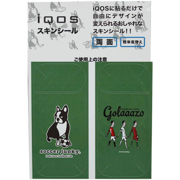 GOLAAZO HISTORY iQOSシール 【SoccerJunky|サッカージャンキー】サッカーフットサルアクセサリーsj17747