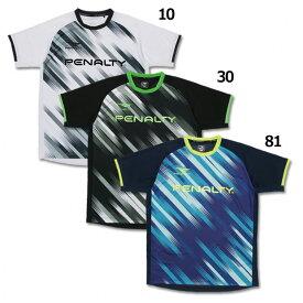 グラデクロス 半袖プラシャツ 【PENALTY|ペナルティ】サッカーフットサルウェアーpu9002
