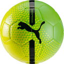 エヴォ サラ ボール J セーフティイエロー×グリーンゲッコ 【PUMA|プーマ】フットサルボール4号球082791-05-4