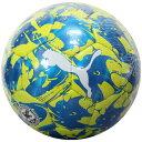 エヴォパワー クローム J ミコノスブルー 【PUMA|プーマ】サッカーボール4号球082873-01-4