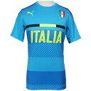 イタリア代表 2016 トレーニングジャージ アトミックブルー 【PUMA|プーマ】ナショナルチームウェアー748851-07
