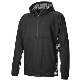 NXT HYBRID ニットフーデッドジャケット プーマブラック 【PUMA プーマ】サッカーフットサルウェアー588526-01