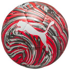 ショックボール SC プーマホワイト×レッドブラスト 【PUMA|プーマ】サッカーボール4号球083613-04-4