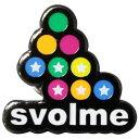 ロゴピンバッジ 【SVOLME|スボルメ】サッカーフットサルアクセサリー162-18329