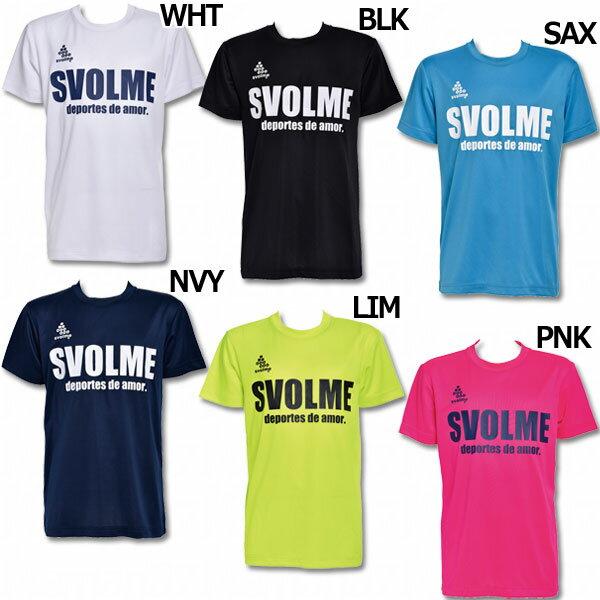 ジュニア ロゴプラTシャツ J 【SVOLME|スボルメ】サッカーフットサルジュニアウェアー171-22100