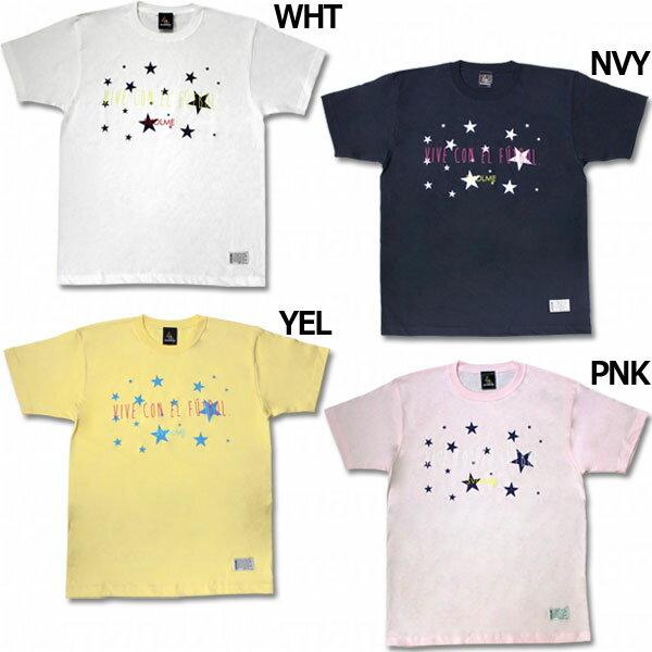 フロッキー星柄Tシャツ 【SVOLME スボルメ】サッカーフットサルウェアー172-58510