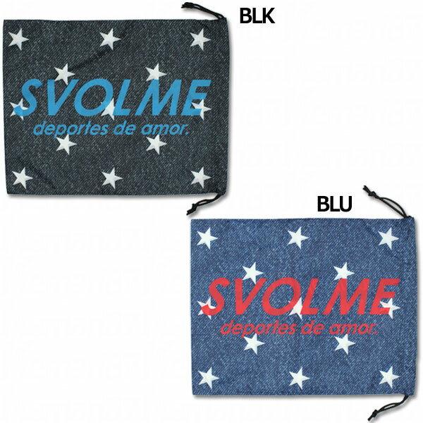 星柄デニムシューズ袋 【SVOLME|スボルメ】サッカーフットサルバッグ181-69029