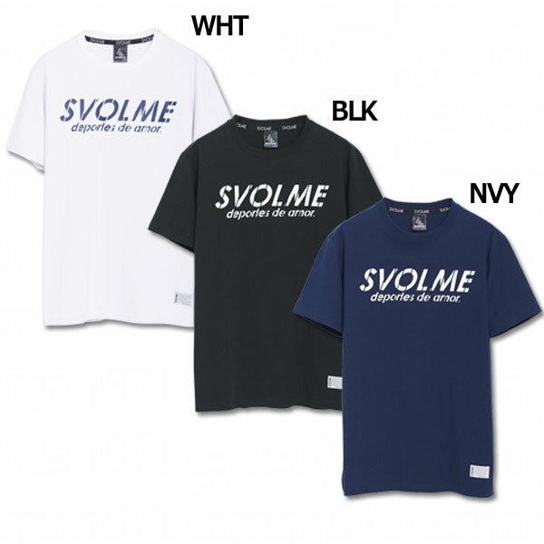 ロゴTシャツ 【SVOLME|スボルメ】サッカーフットサルウェアー183-83500