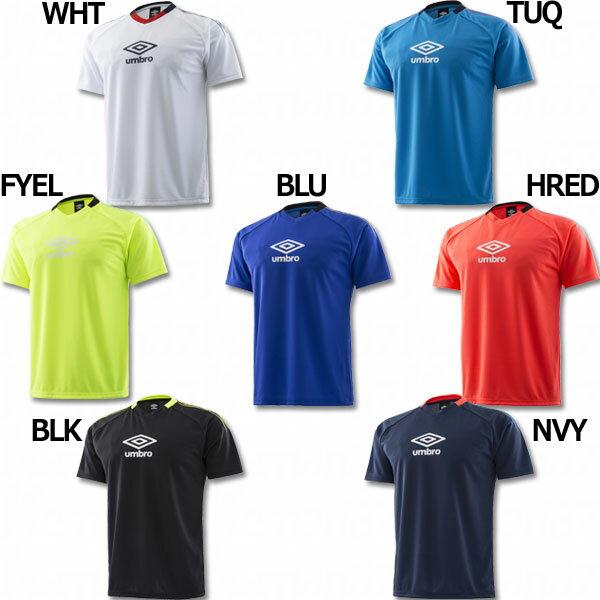 BASIC TRAINING ロゴグラフィックプラクティスシャツ 【UMBRO|アンブロ】サッカーフットサルウェアーuuulja59