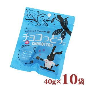 【送料無料】チョコっとう塩味 40g×10袋