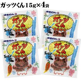 オキハム ガッツくん15g×4袋 【送料無料メール便SL】