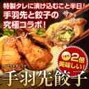 [送料無料][パーティー・クリスマス・お正月]手羽先餃子 【20個入り】