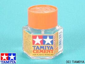タミヤ タミヤセメント(六角びん)(模型用接着剤)【新品】仕上げ材 素材 TAMIYA