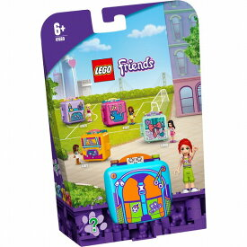 レゴ フレンズ キュービーズ - ミアのサッカーキューブ 41669【新品】 LEGO Friends 知育玩具