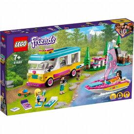 レゴ フレンズ キャンピングカーとボート (森のキャンピングカーとボート) 41681【新品】 LEGO Friends 知育玩具