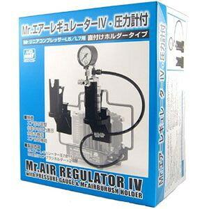 PS234 Mr.エアーレギュレーターIV 圧力計付 直付けホルダータイプ【新品】 GSIクレオス エアーブラシシステム