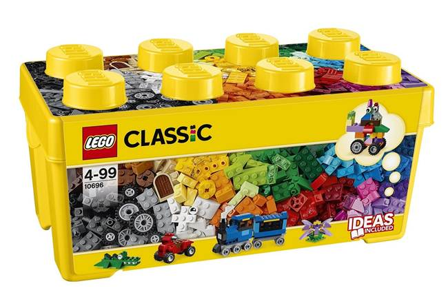 レゴ クラシック 黄色のアイデアボックス プラス 10696【新品】 LEGO CLASSIC 知育玩具 クリスマス プレゼント クリスマス プレゼント