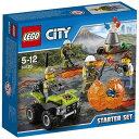 レゴ シティ 火山調査スタートセット 60120【新品】 LEGO 知育玩具