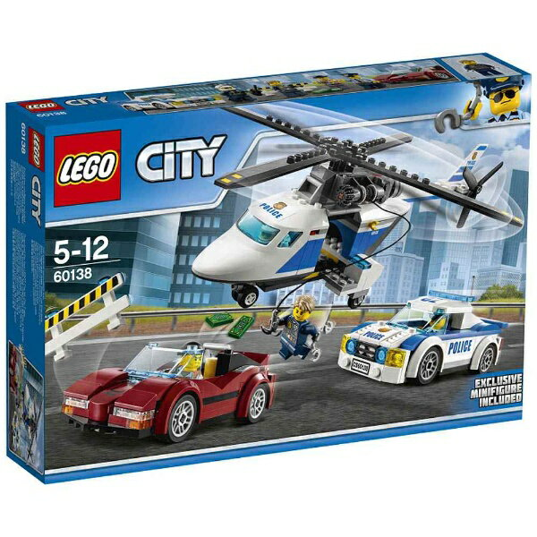 レゴ シティ ポリスヘリコプターとポリスカー 60138【新品】 LEGO 知育玩具