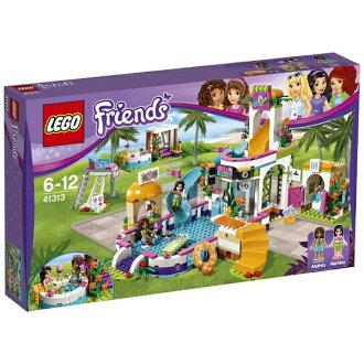 Lego朋友不安水公园41313 LEGO Friends智育玩具