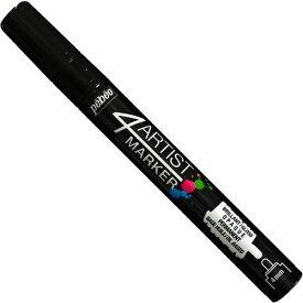 ガイアノーツ 4アーティスト マーカー 4mmラウンド ブラック【新品】 ガイアカラー プラモデル用塗料