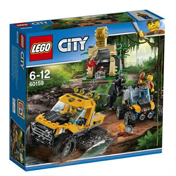 レゴ シティ ジャングル探検パワフルトラック 60159【新品】 LEGO 知育玩具