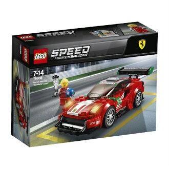 Lego speed champion Ferrari 488 GT3 スクーデリア コルサ 75886 LEGO cognitive education toy