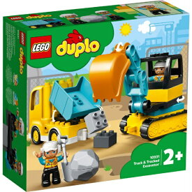 レゴ デュプロ トラックとショベルカー 10931【新品】 LEGO 知育玩具