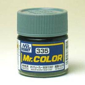 塗料 C335 ミディアムシーグレー【新品】 GSIクレオス Mr.カラー 【メール便不可】