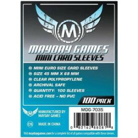 【メール便発送可】MDG-7035 カードスリーブ 45mmx68mm Mini Euro Card Sleeve (Pack of 100)【新品】 ボードゲーム カードゲーム アナログゲーム テーブルゲーム ボドゲ