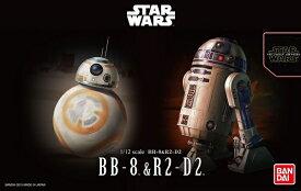 STAR WARS 1/12 BB-8 & R2-D2【新品】 スター・ウォーズ プラモデル 【宅配便のみ】