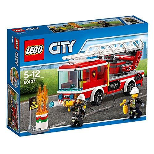 レゴ シティ はしご車 60107【新品】 LEGO 知育玩具 【宅配便のみ】