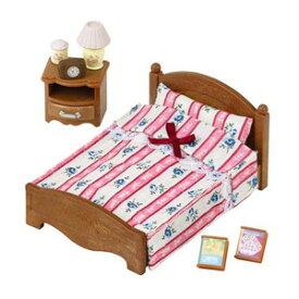 シルバニアファミリー ベッドルーム セミダブルベッド カ-512【新品】 【ハウス・家具】 【メール便不可】