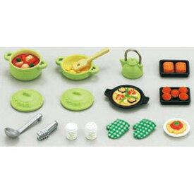 シルバニアファミリー 家具 料理セット カ-410【新品】 【ハウス・家具】 【メール便不可】