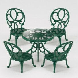 シルバニアファミリー ガーデンテーブル・チェアーセット カ-621【新品】 【ハウス・家具】 【メール便不可】
