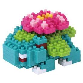 【メール便発送可】ナノブロック ポケットモンスター フシギバナ NBPM-018【新品】 nano block
