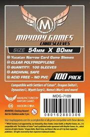 【メール便発送可】MDG-7109 カードスリーブ 54mmx80mm Yucatan Narrow Card Game Sleeves(100 pack)【新品】 ボードゲーム カードゲーム アナログゲーム テーブルゲーム ボドゲ