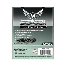 【メール便発送可】MDG-7116 カードスリーブ 87mmx112mm Magnum Oversized Dungeon Sleeves【新品】 ボードゲーム カードゲーム アナログゲーム テーブルゲーム ボドゲ