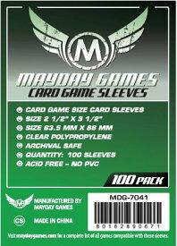 【メール便発送可】MDG-7041 カードスリーブ 63.5mmx88mm Card Game Sleeves (Pack of 100)【新品】 ボードゲーム カードゲーム アナログゲーム テーブルゲーム ボドゲ