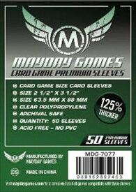 【メール便発送可】MDG-7077 カードスリーブ 63.5mmx88mm Premium Card Game Sleeves (50 Pack)【新品】 ボードゲーム カードゲーム アナログゲーム テーブルゲーム ボドゲ