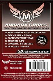【メール便発送可】MDG-7079 カードスリーブ 43mmx65mm Premium Mini Chimera Game Sleeves(50 pack)【新品】 ボードゲーム カードゲーム アナログゲーム テーブルゲーム ボドゲ