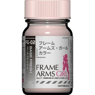 供盖亚彩色框架臂杆·女孩子彩色系列FG-02基础新鲜盖亚应当注意的是塑料模型使用的涂料