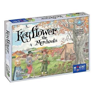 模拟游戏表棋盘游戏 keyflower 商人 (商人 Keyflower) (扩展集)